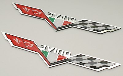 customized Italian heritage flags for new camaro