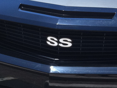 grille mounted SS emblems