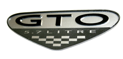 GTO Emblem Reversed out